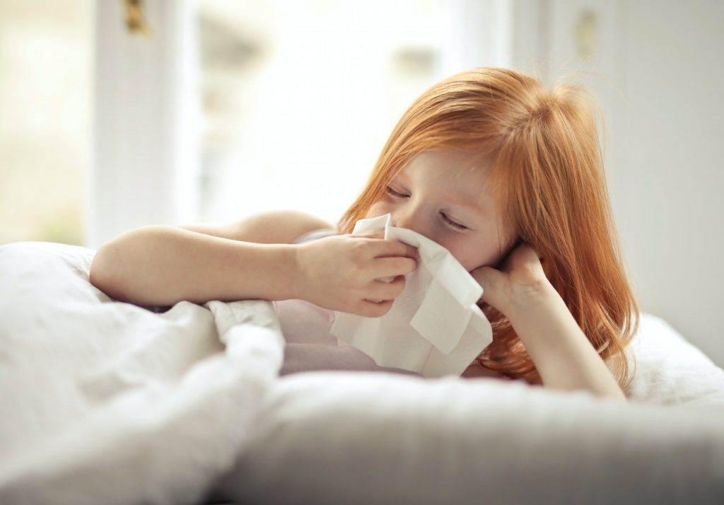 child not feeling well
